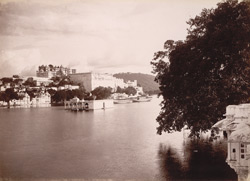 Palace from the Lake, [Udaipur]